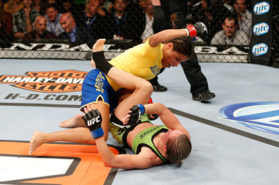 Respect! Julianna Pena First Female TUF Winner