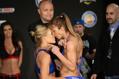 Felice Herrig Stare Downs Remind Me of Madonna Vogue Video, But Rougher