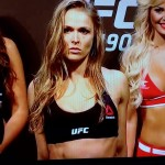 Ronda Rousey's Sister's Blog Offers Backstage View of UFC 190